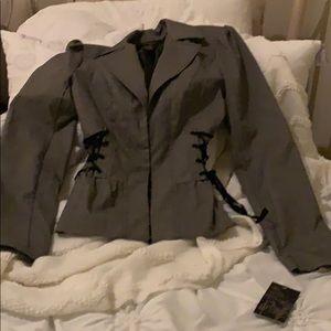 Women's pantsuit jacket size medium